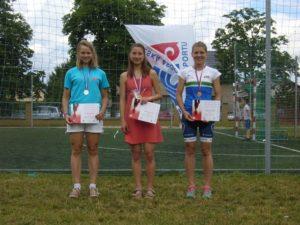 Nejlepší 3 ženy na zkrácené trati