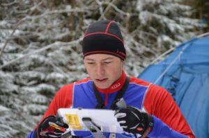 Petr Horvát při závodě ČP na Eduardu v lednu 2016 (Foto: Josef Nádeníček).