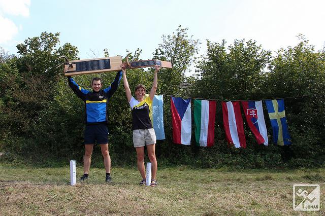 Putovní Jelení paroh získal Michal Krajčík (ATU Košice) a Kraví paroh Zdenka Kozáková (Tesla Brno). (Foto: Martin Jonáš)